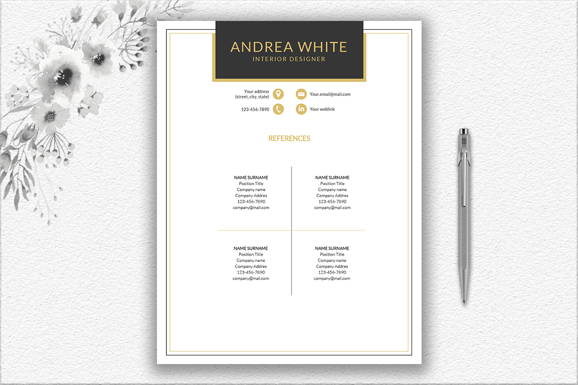Resume Template Design example image 2