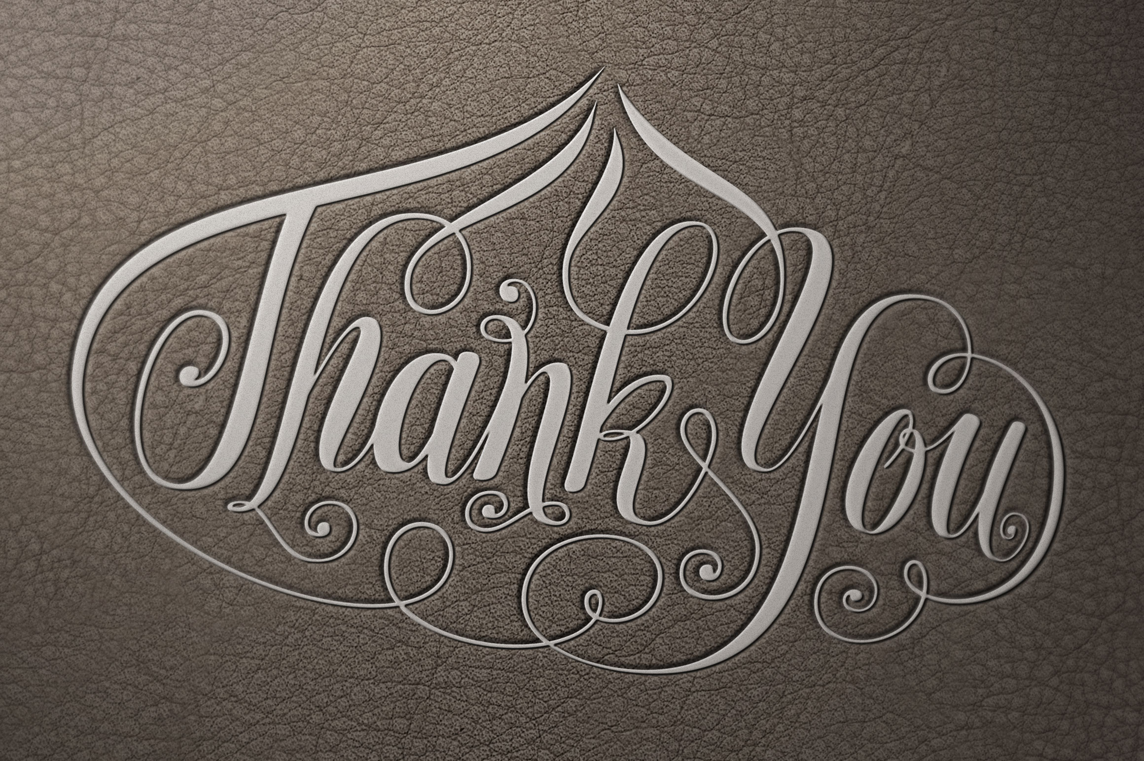 Thank-You-Onion-Shape-Lettering SVG example image 1