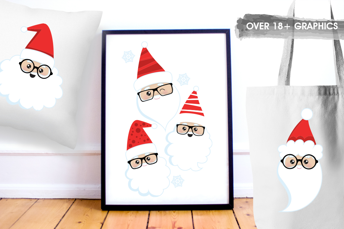 Santa Claus graphic and illustrations example image 5