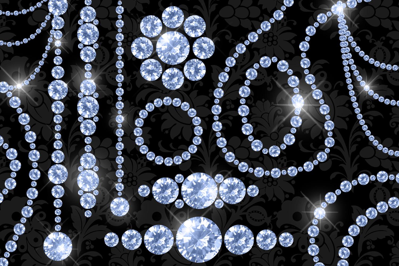 Luxury Diamond Clipart example image 3