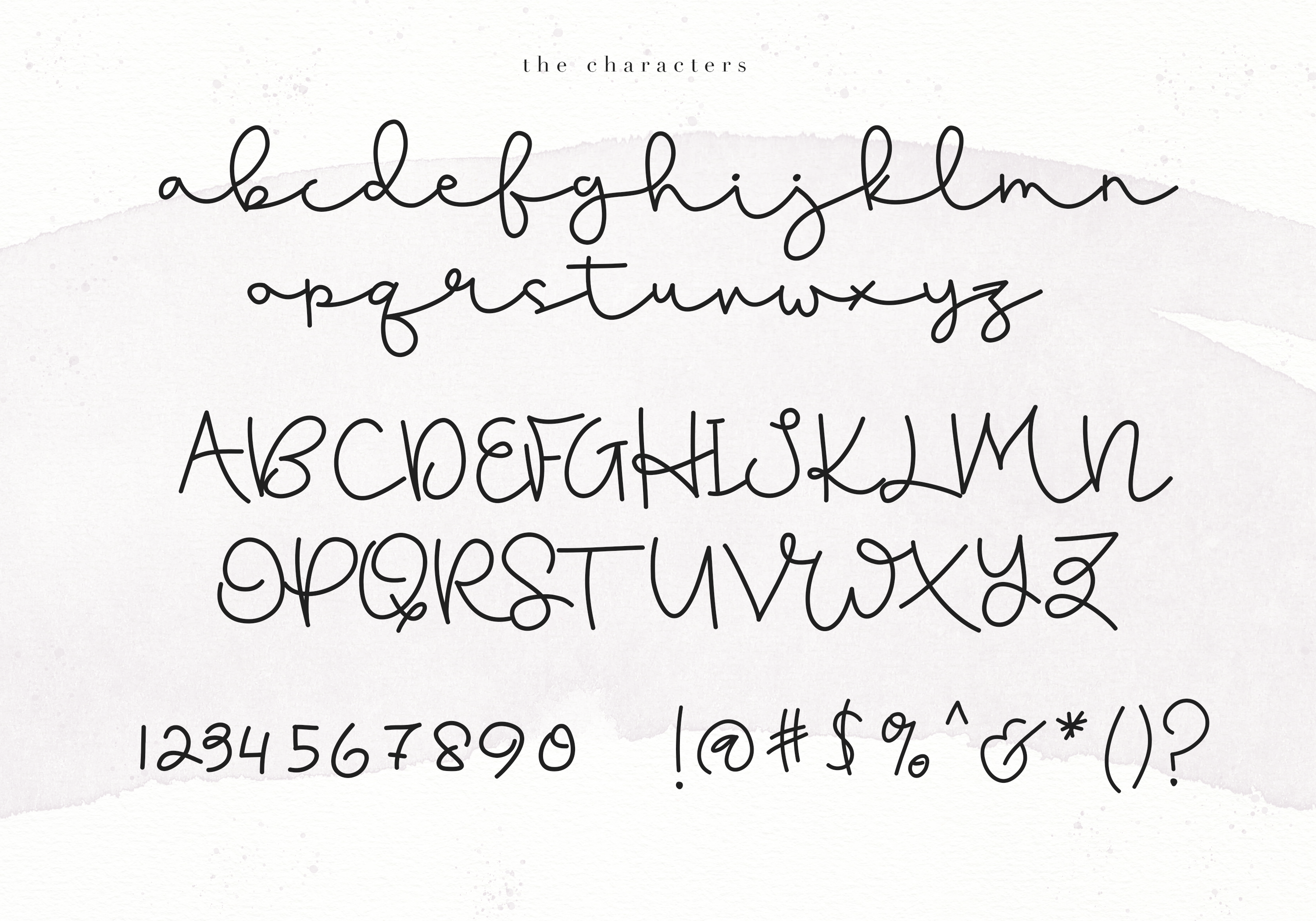 Blushed - A Cute Handwritten Script example image 6