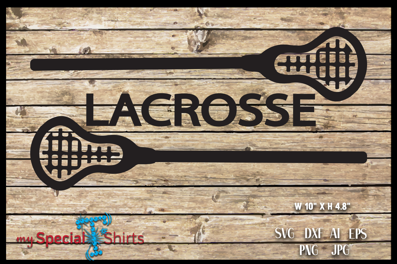 Lacrosse Sticks SVG, DFX, EPS, JPG, PNG example image 2