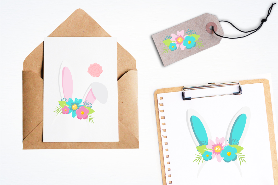 Happy Easter graphic and illustrations example image 5