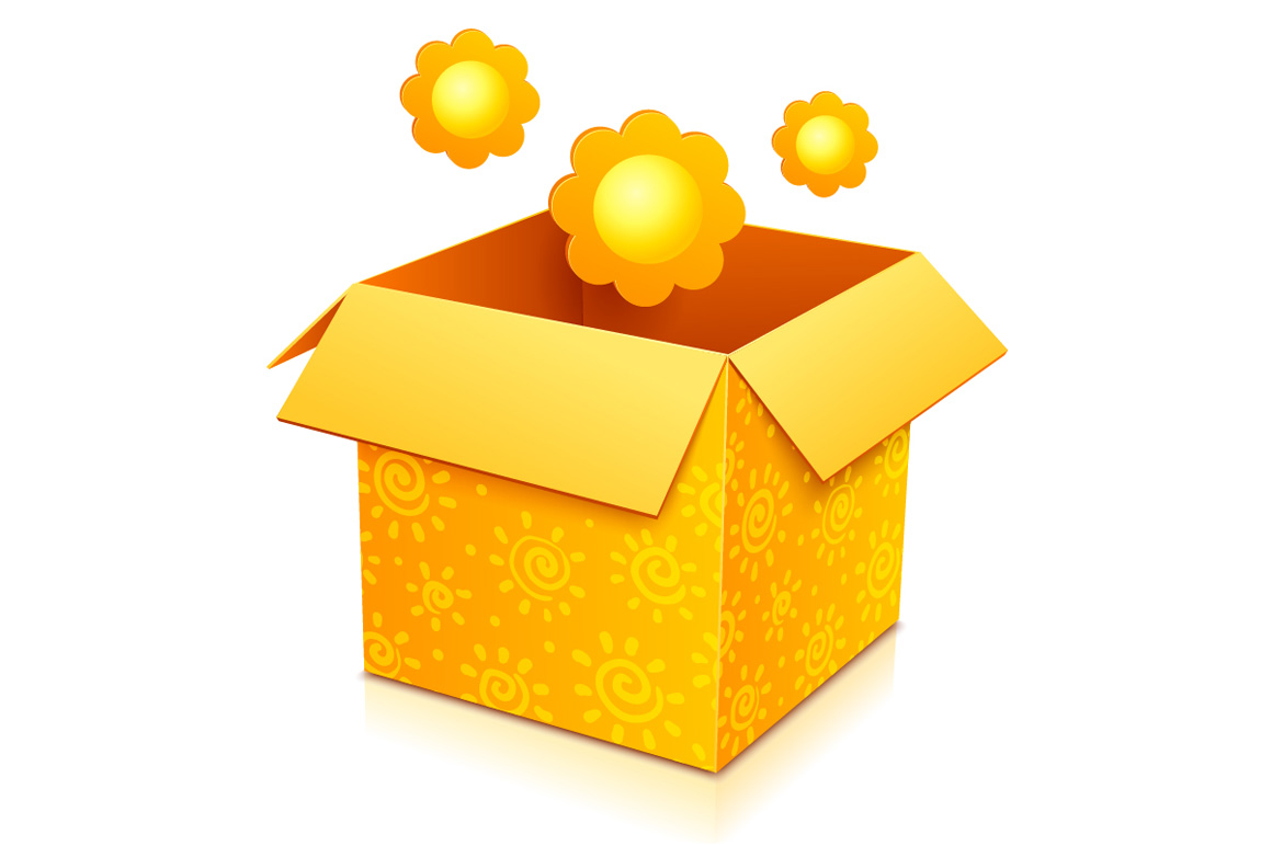 6 high quality vector gift boxes example image 6