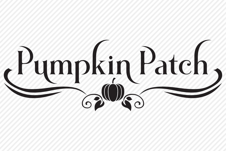 Pumpkin Patch SVG, Cut File, Fall Shirt Design, Thanksgiving example image 2