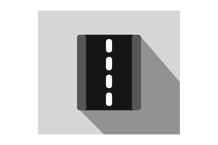 Road icon example image 1