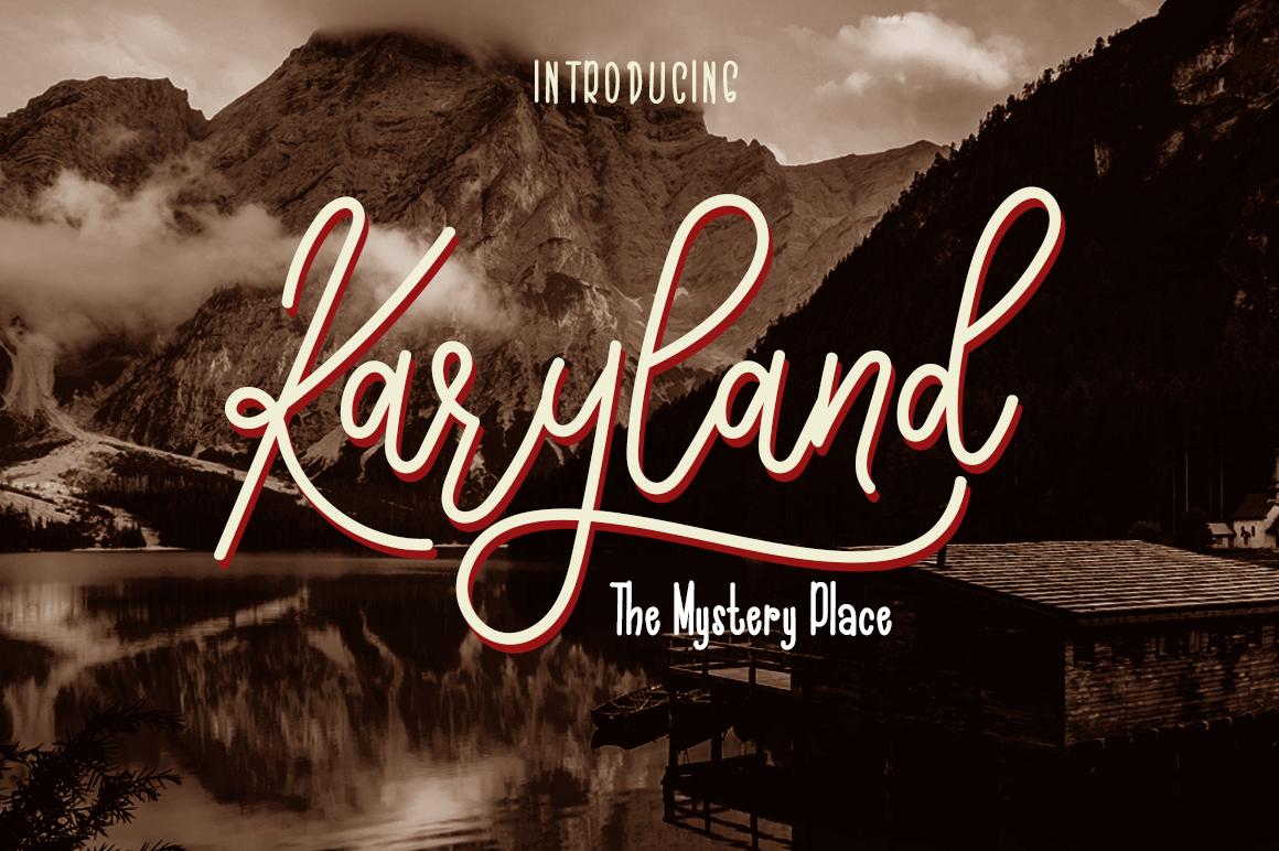 The Karyland / Natural Font Duo example image 1