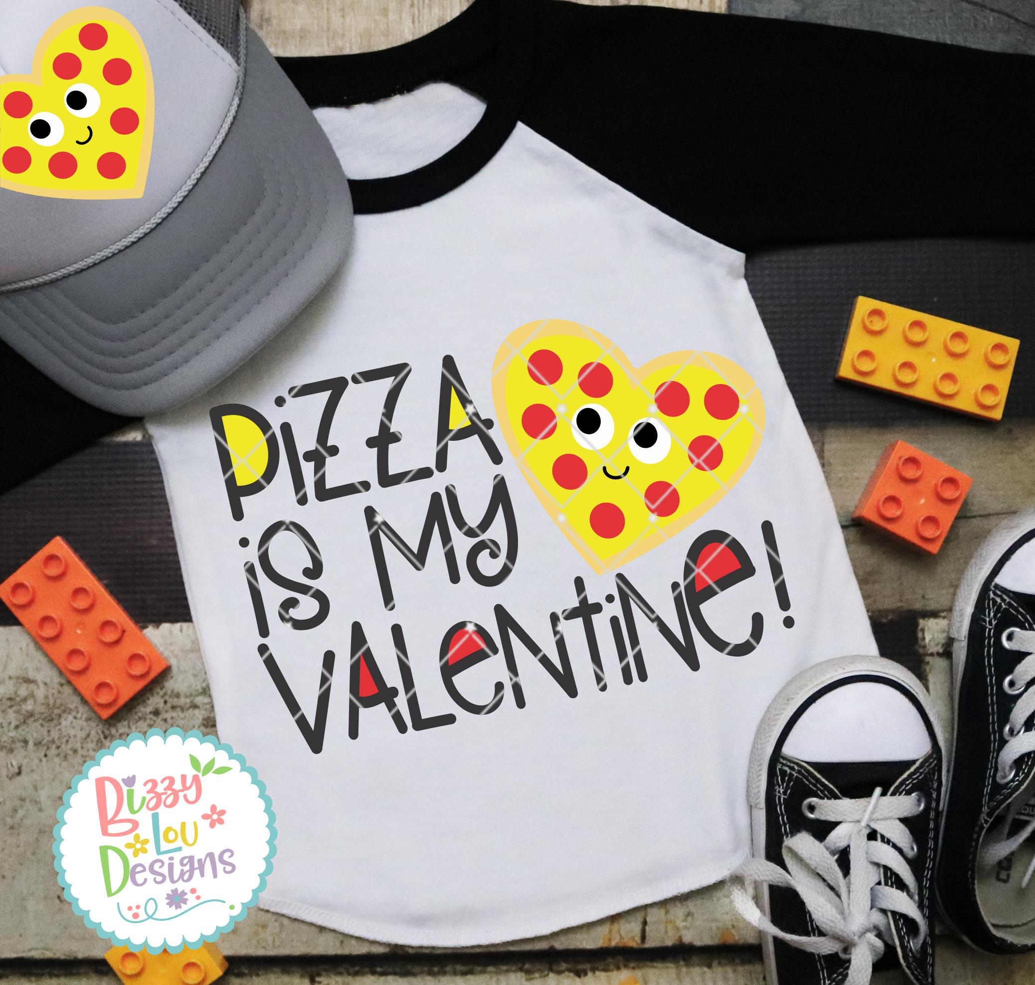 Pizza is my Valentine example image 2