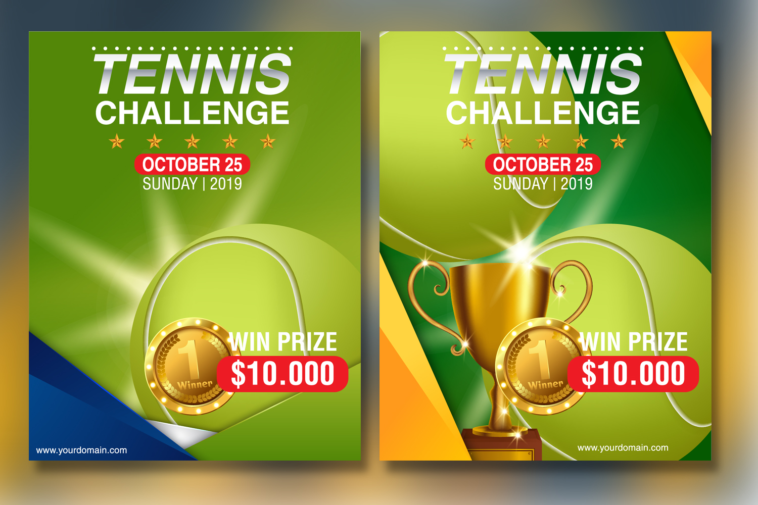 Tennis Tournament Flyer Template example image 3