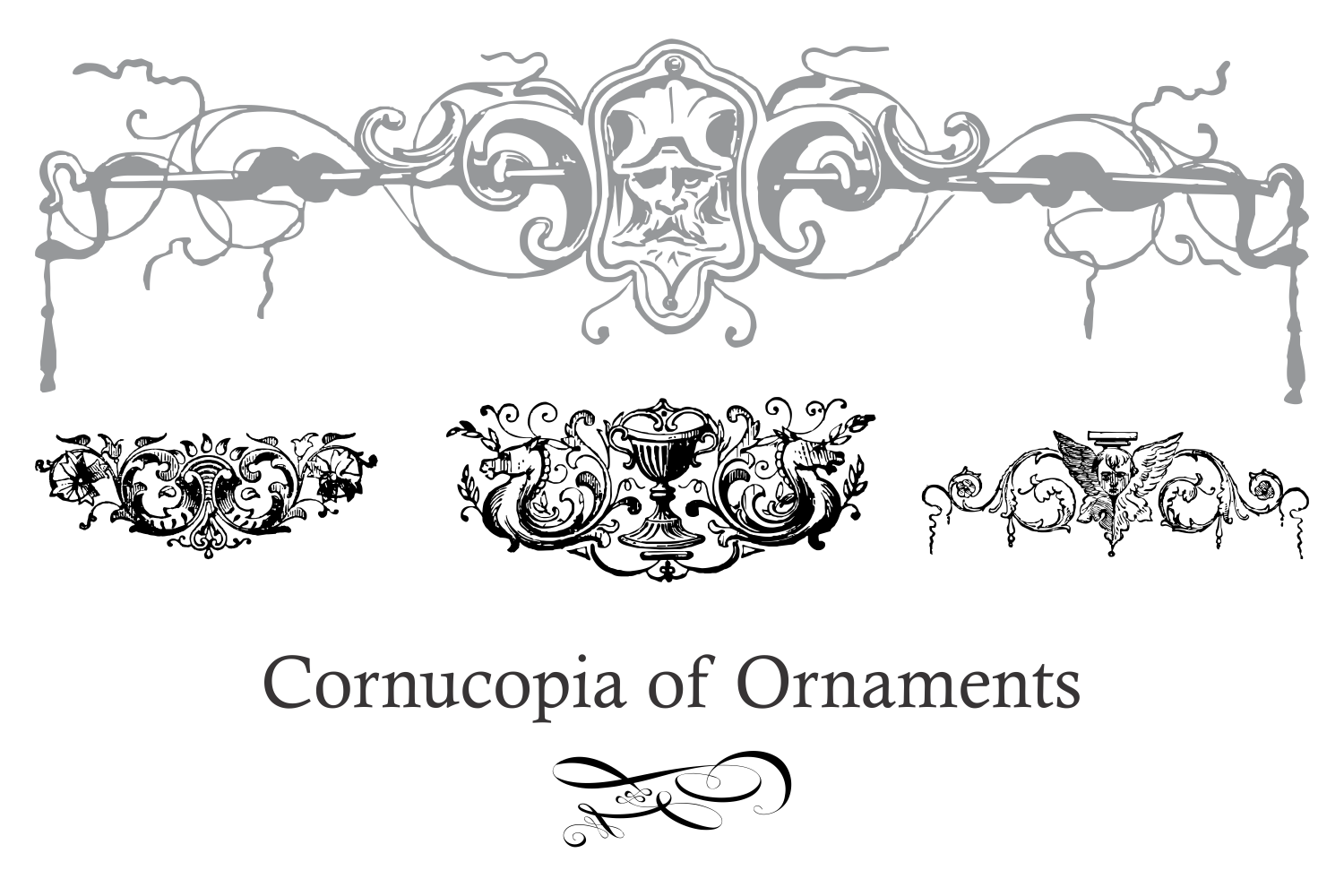 Cornucopia of Ornaments example image 3