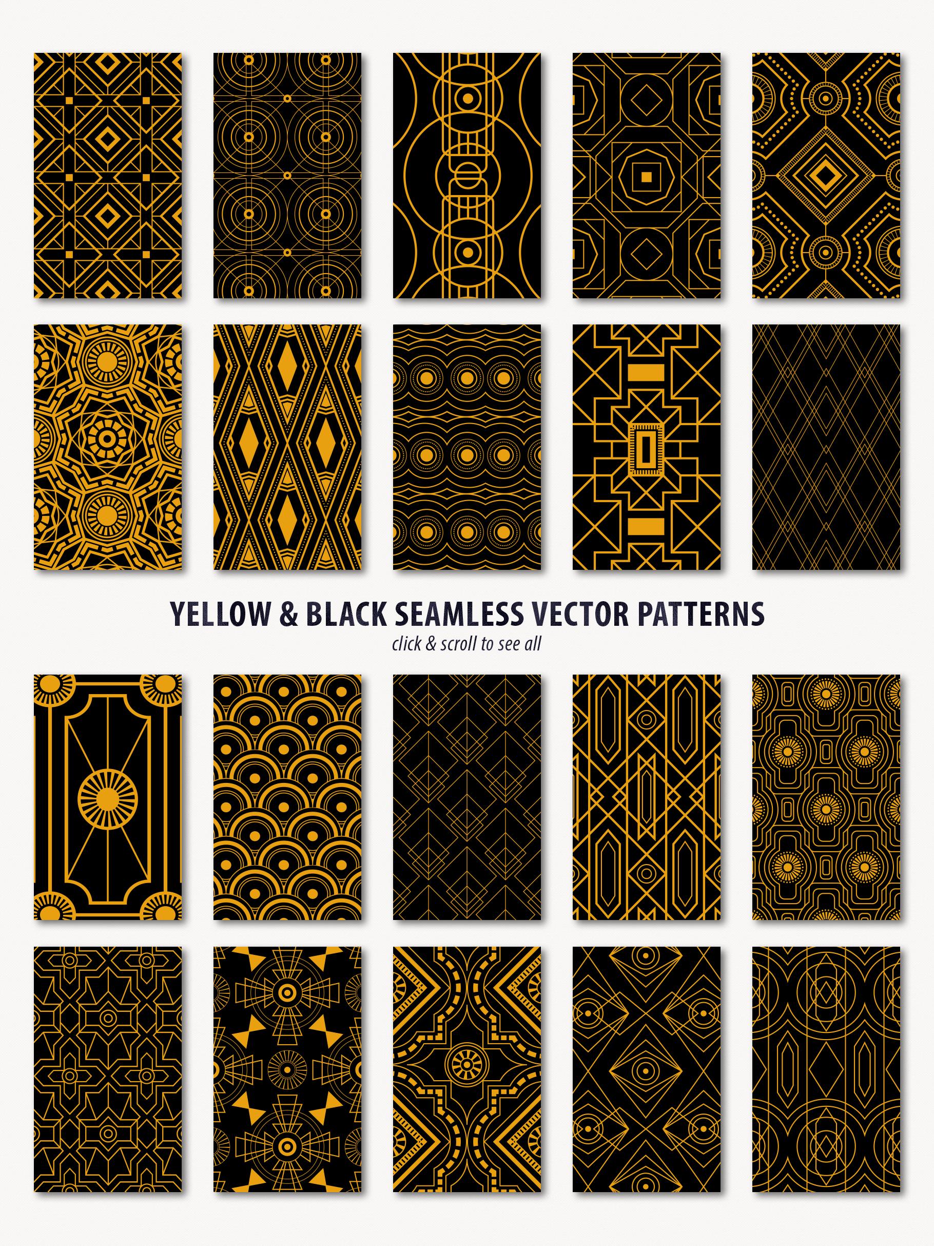 Noir - Patterns & Textures Bundle example image 20