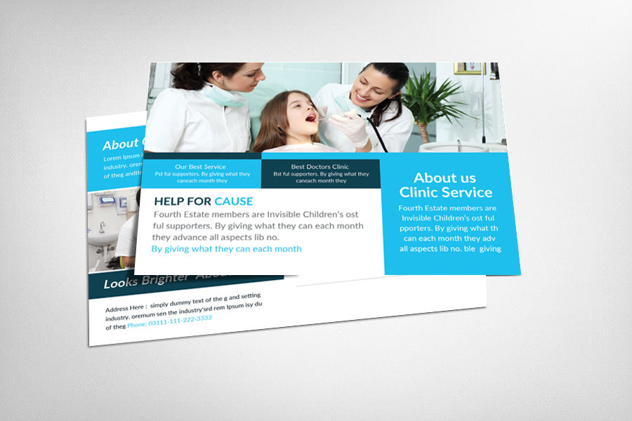 Medical Billing & Coding Postcard Template example image 1