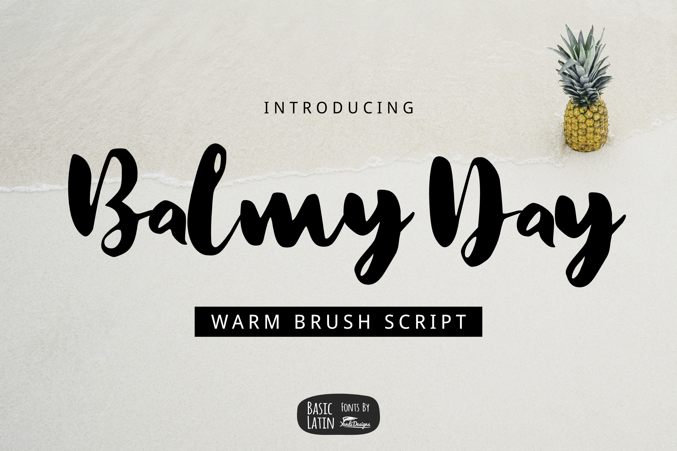 Casual Brush Font Bundles by YandiDesigns example image 20