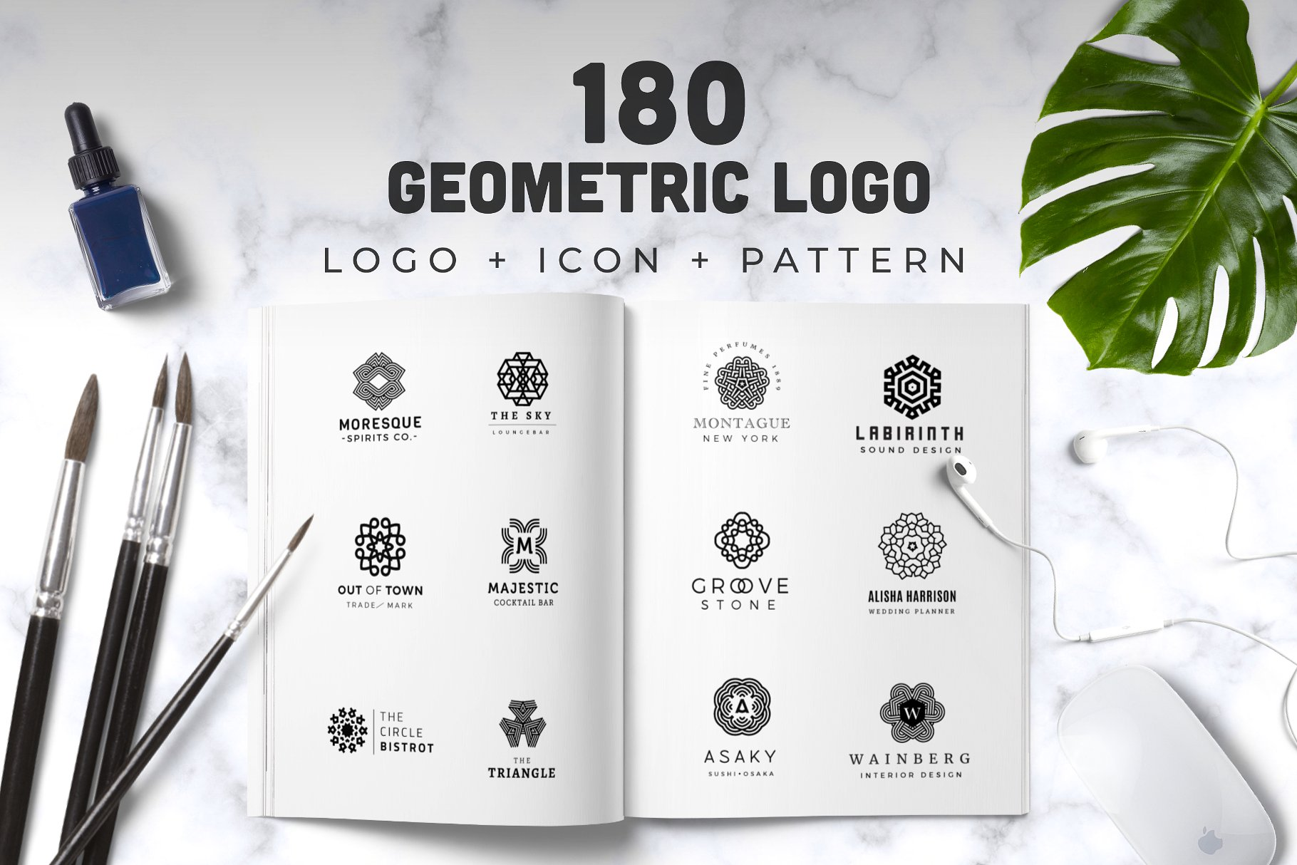 Logo Ultra Bundle - Massive professional logo collection example image 2