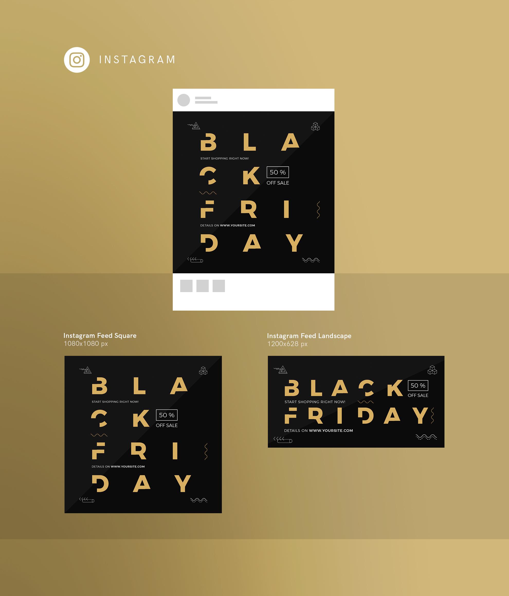 Black Friday Sale Design Templates Bundle example image 15