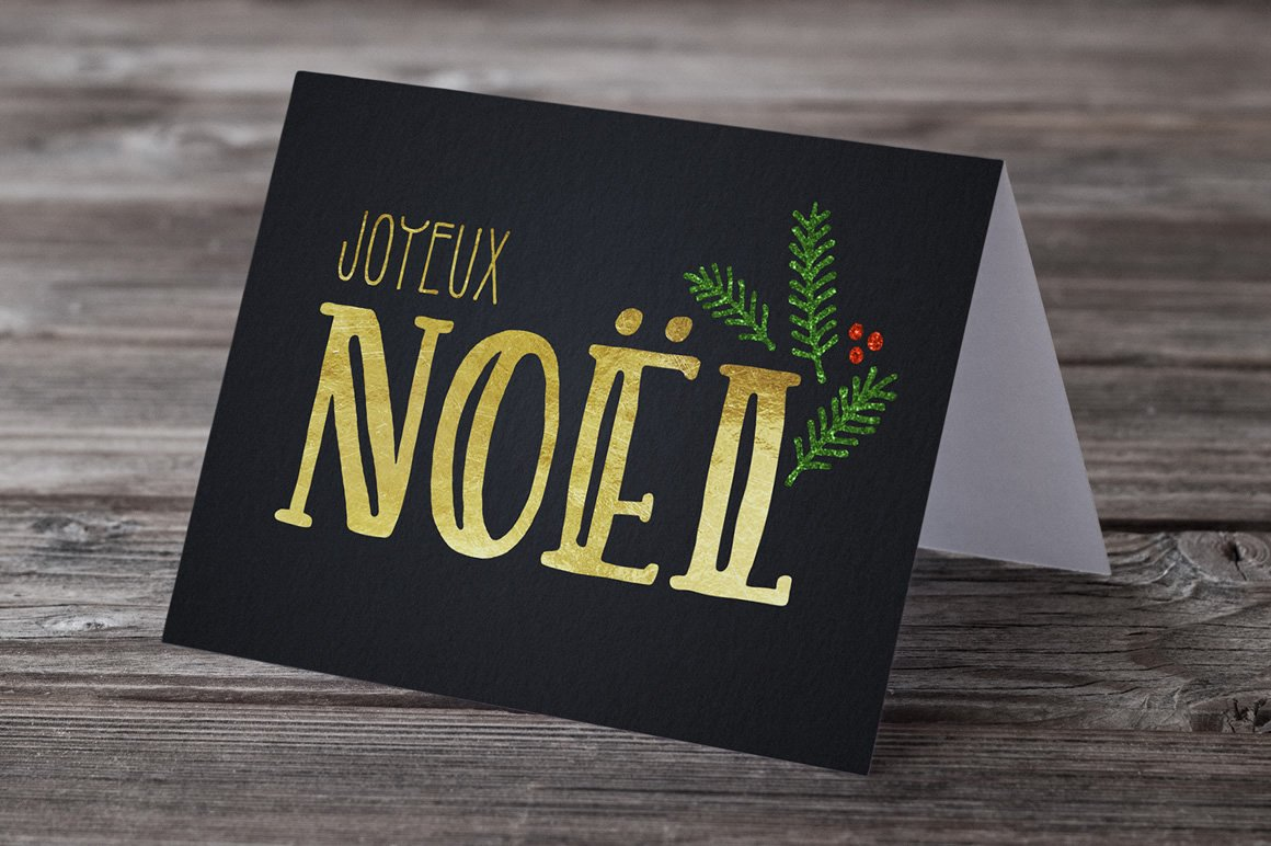 Holiday Font Pack example image 8