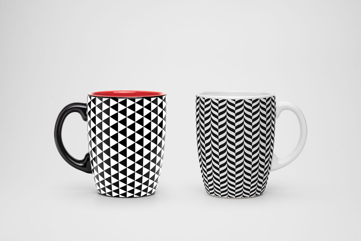 Geometric seamless modern patterns. example image 5