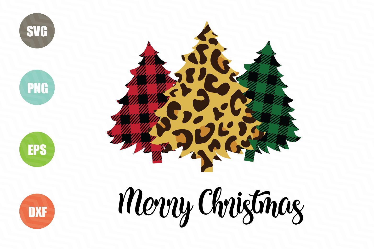 Merry Christmas SVG, Christmas Tree SVG example image 1