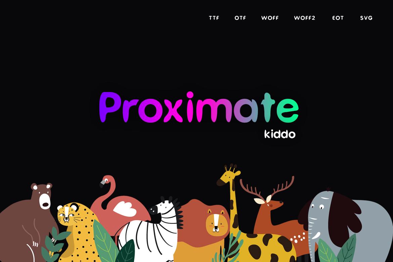 Proximate Kiddo example image 1