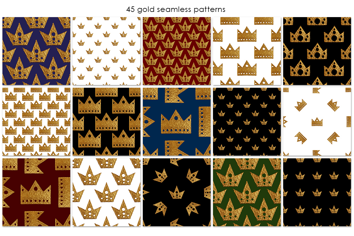 GOLD CROWN patterns example image 3