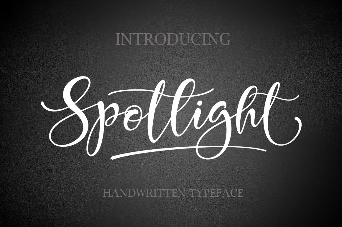 Spotlight example image 1