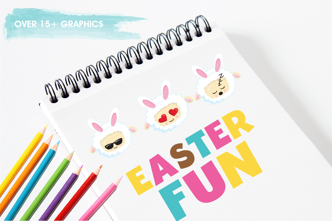 Easter sheep graphics and illustrations example image 3