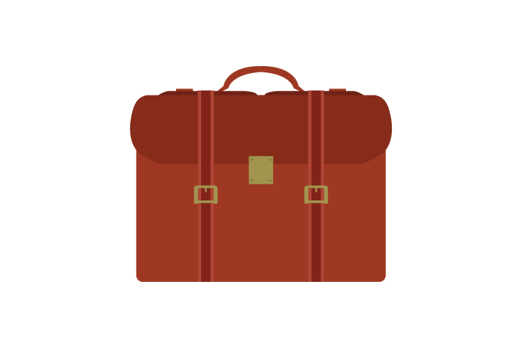 Suitcase work icon example image 1