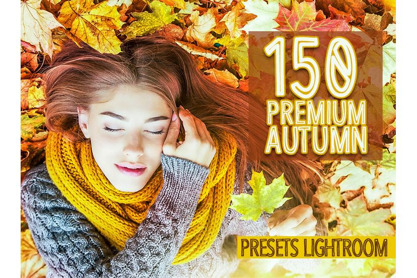 150 Premium Autumn Presets Lightroom (Presets for Lightroom 5,6,CC) example image 1
