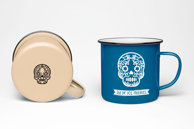 36 Dia de los muertos SVG, Day of the dead, sugar skull example image 3