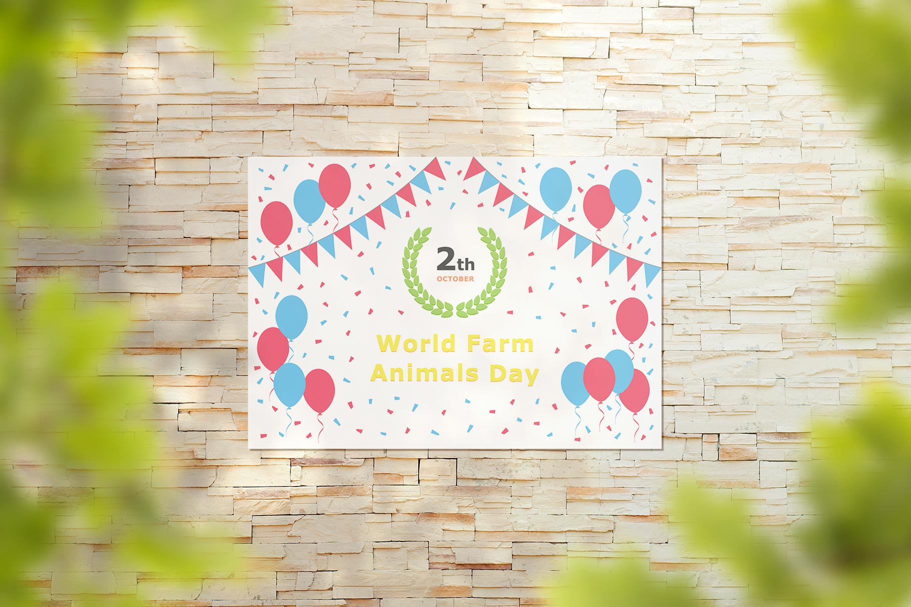 World Farm Animals Day - October 02 example image 4