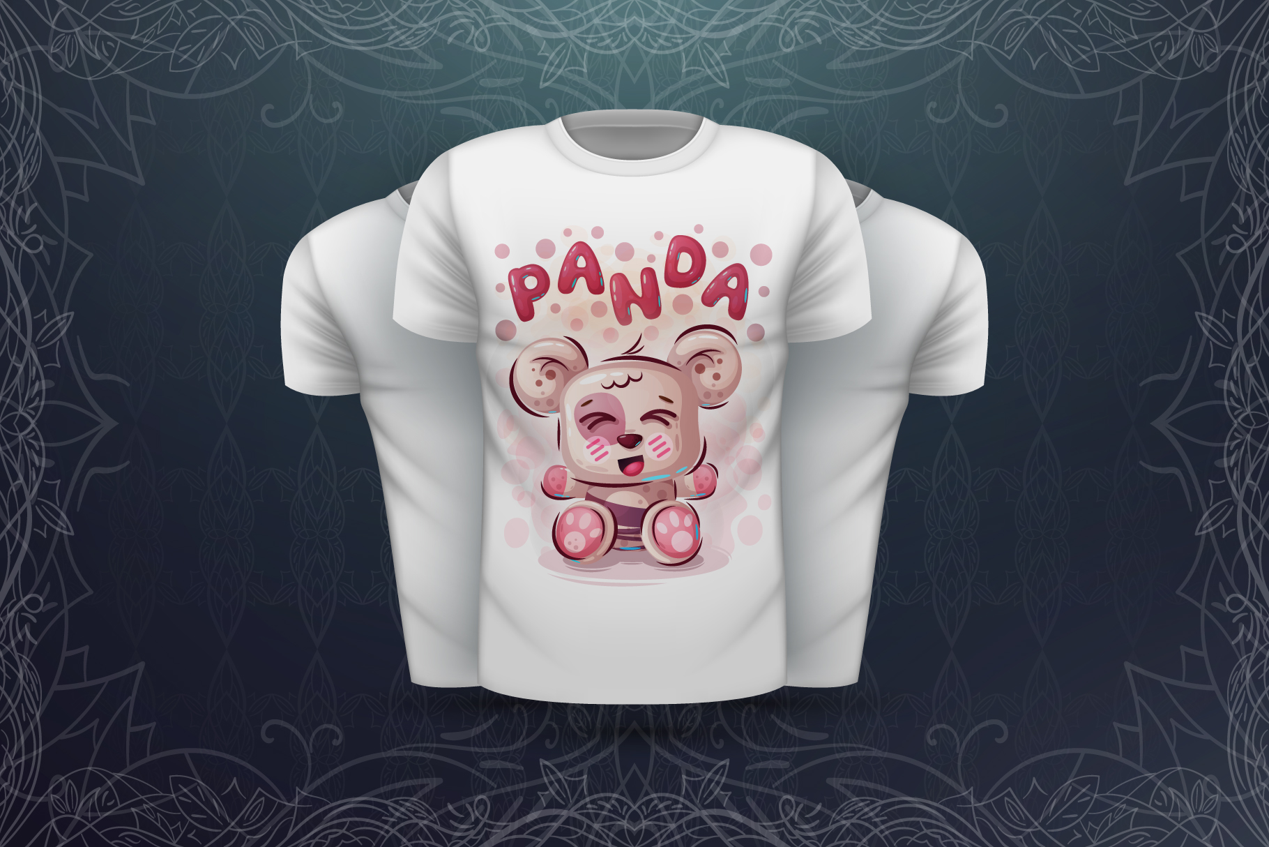 Set cute animals - for print t-shirt example image 6