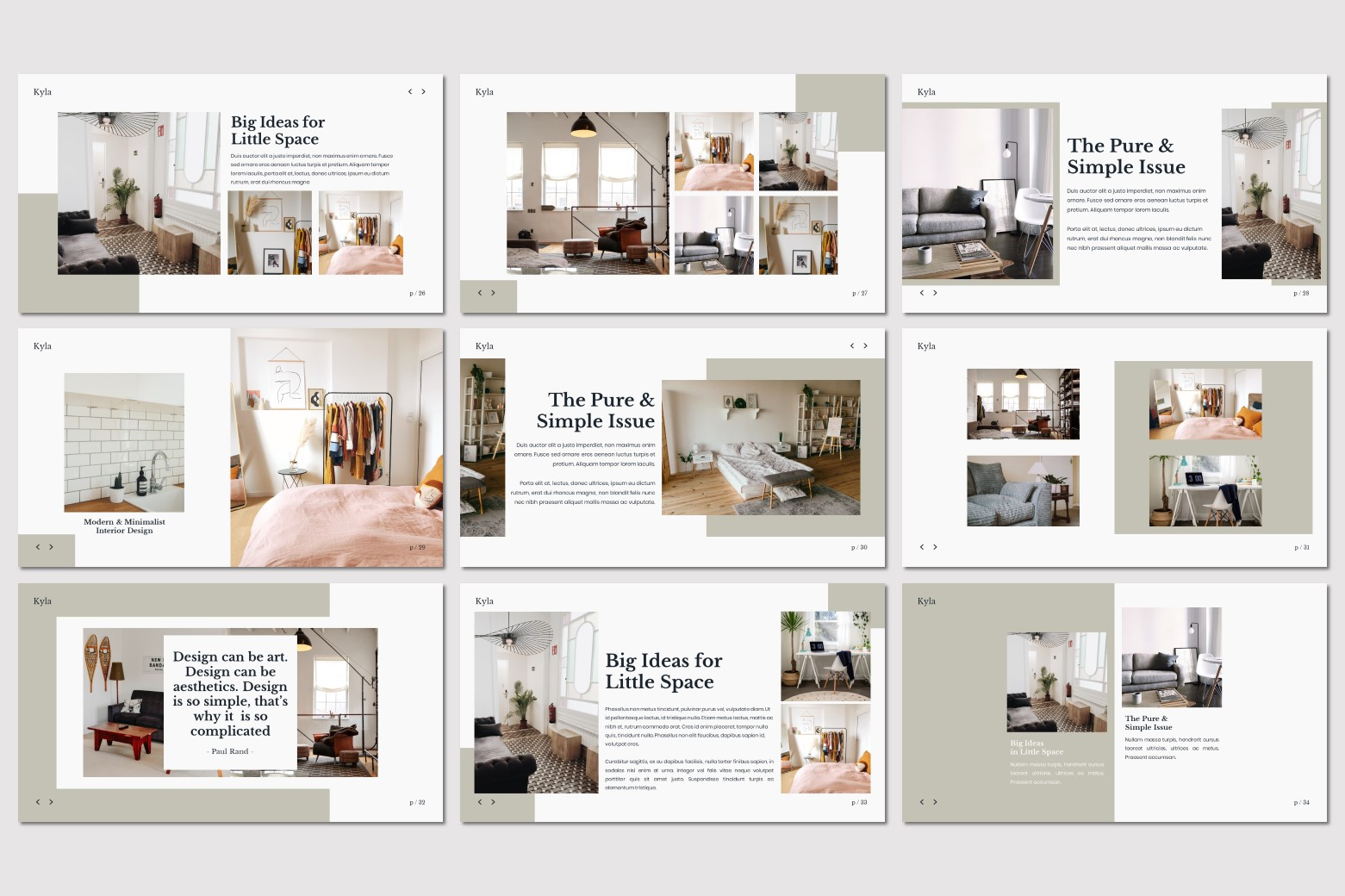 Kyla - Powerpoint Template example image 7