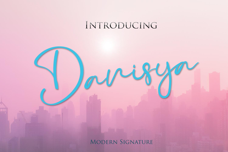 Danisya Modern Signature example image 1