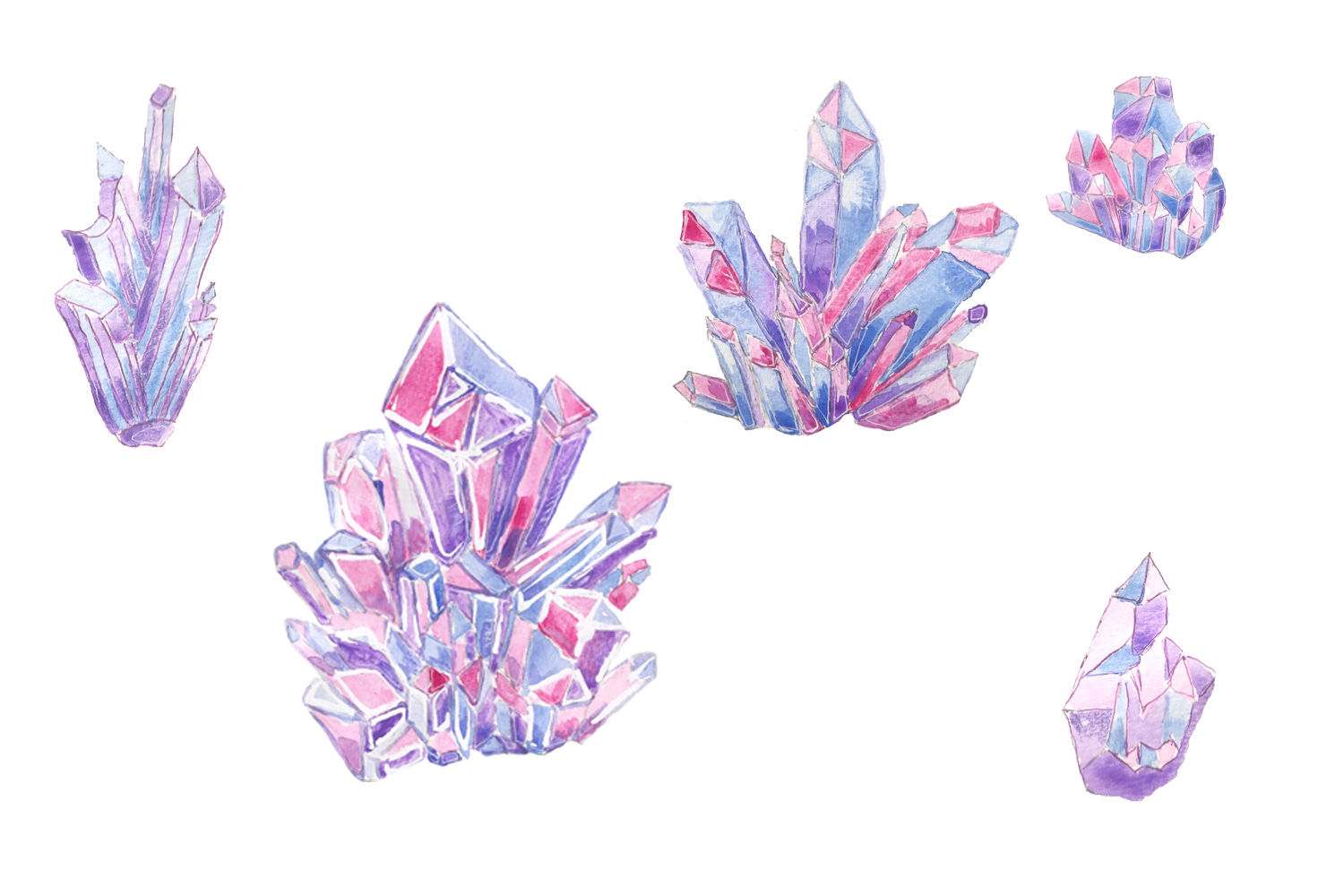 Crystals & Gems example image 6