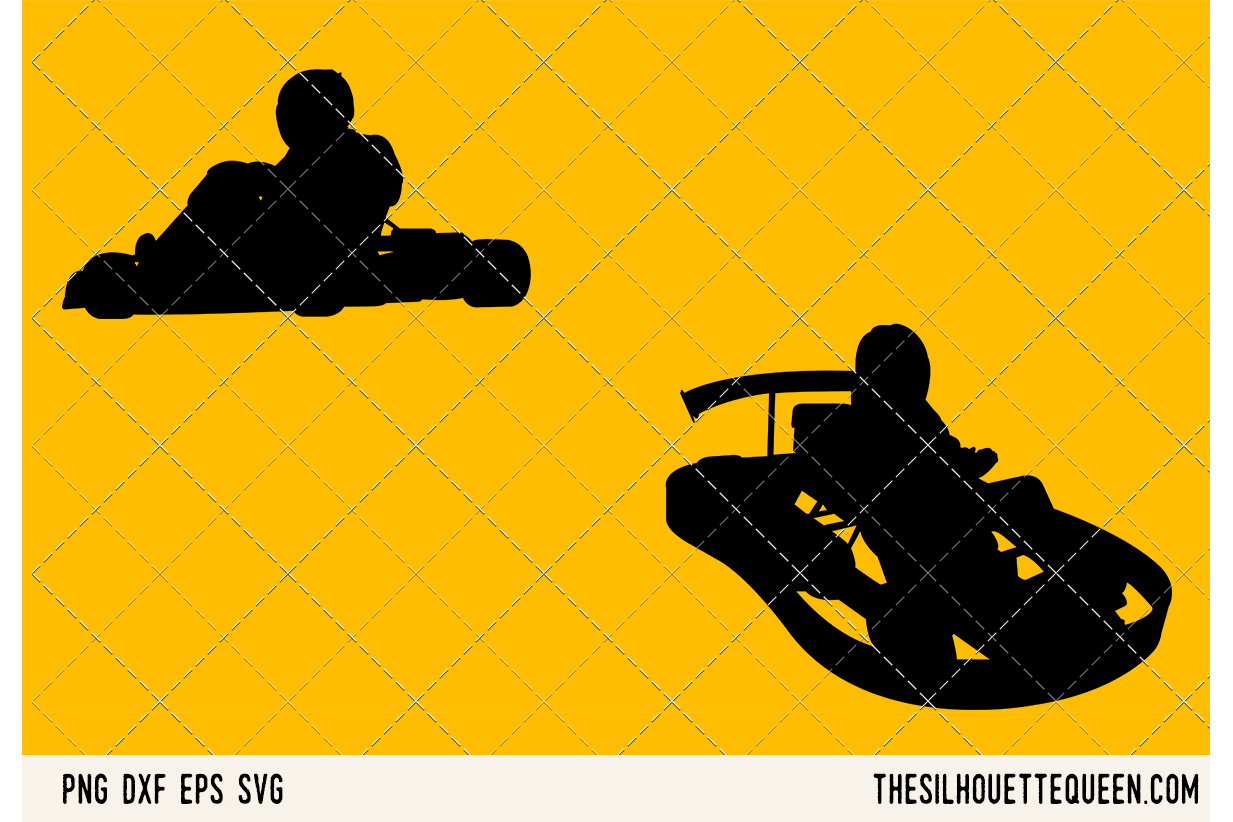 Go Karting SVG example image 1