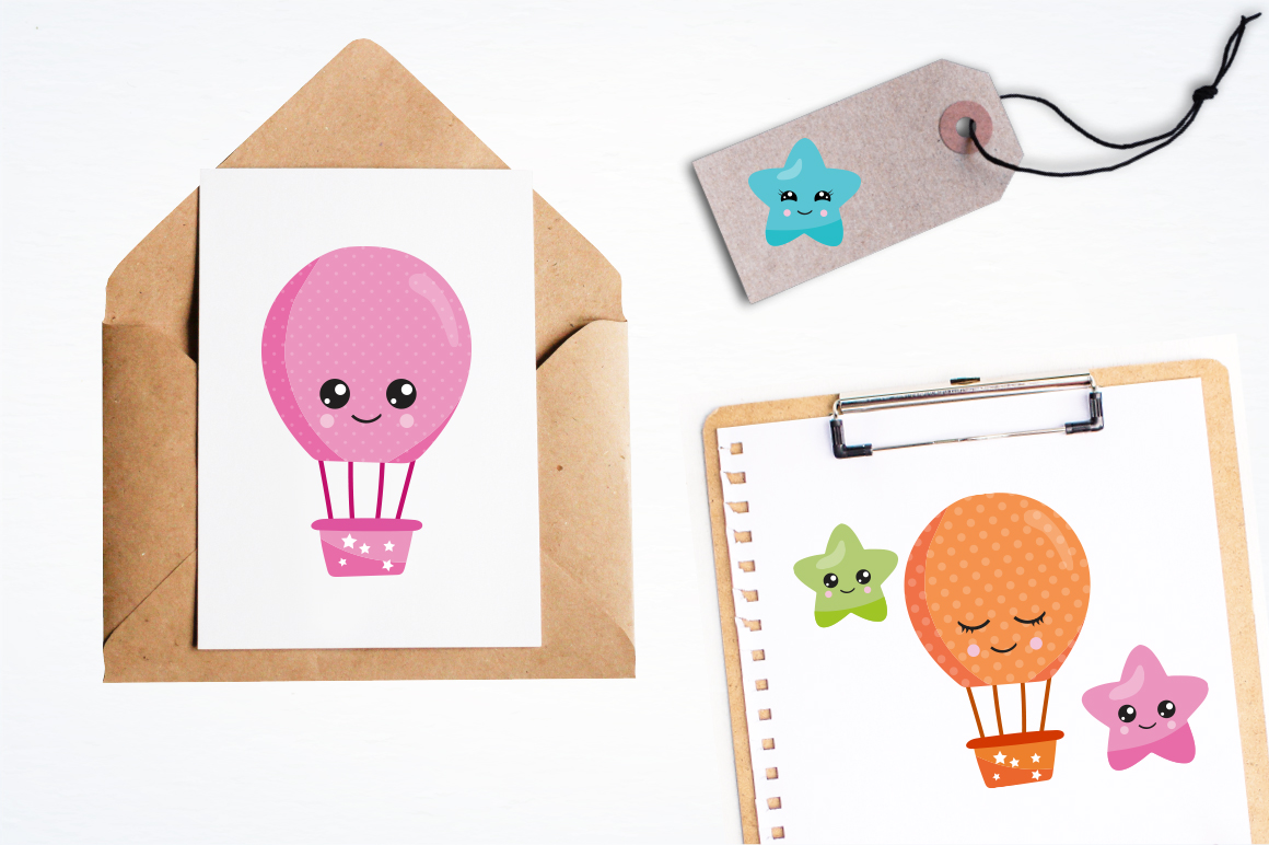Air Balloon graphic and illustrations example image 5
