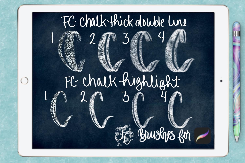 FC-chalk-set 4for PROCREATE example image 4