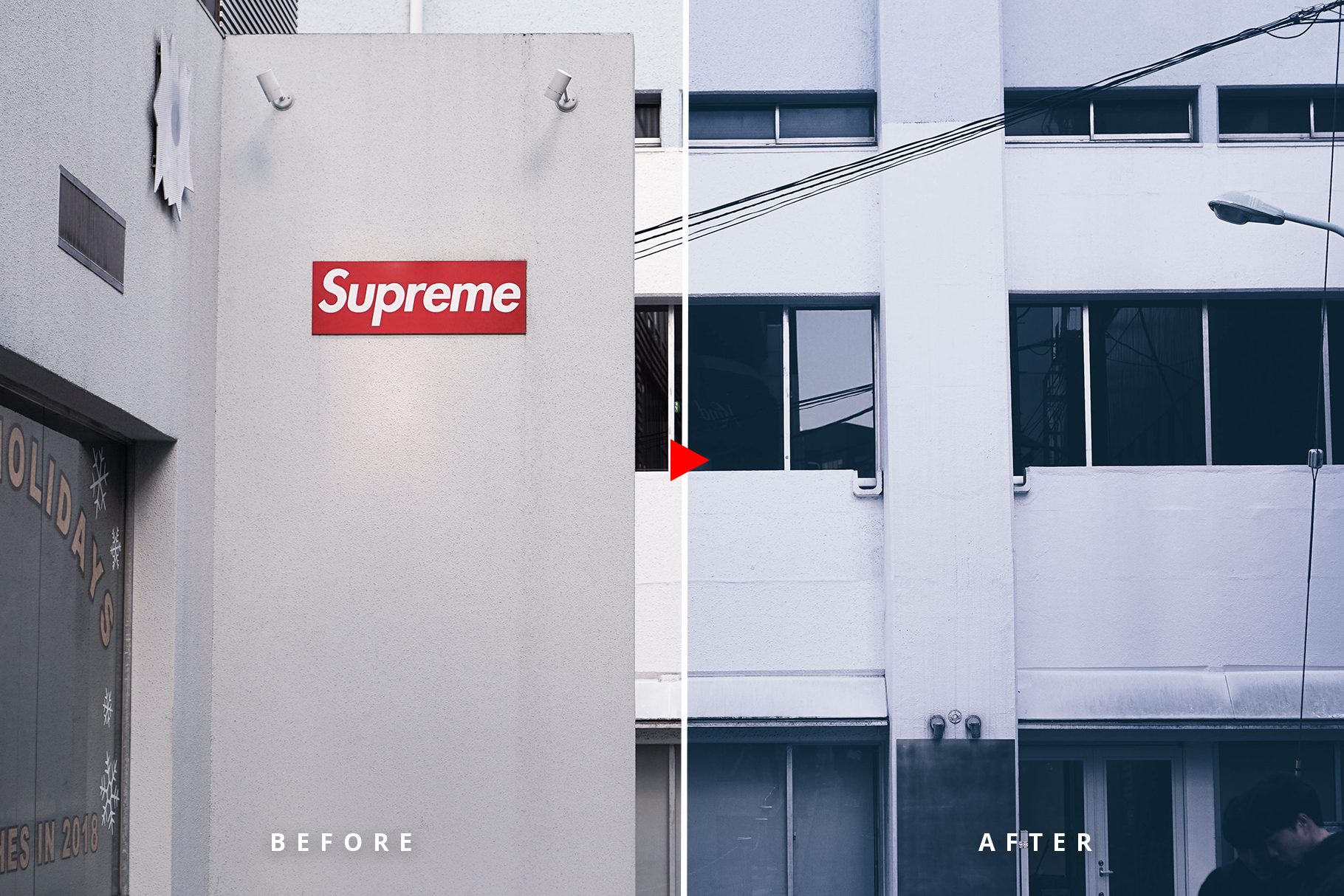 Oneday Hypebeast Lightroom preset example image 3