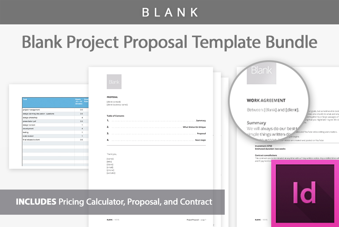 Project proposal template kit project proposal template kit example image 1 accmission Image collections