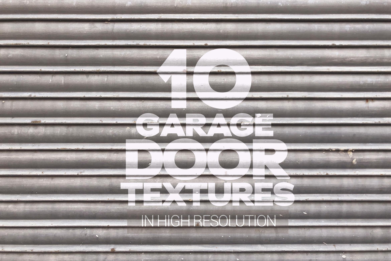 Garage Door Textures x10 example image 1