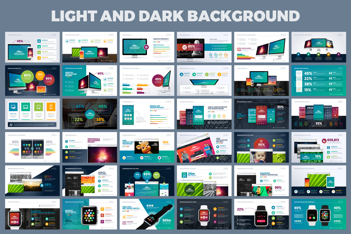 PowerPoint Presentation Template example image 6