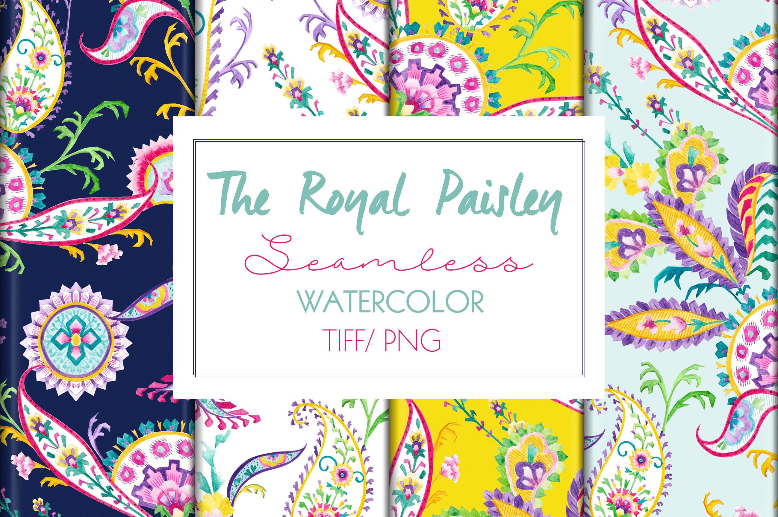 Royal Paisley example image 1