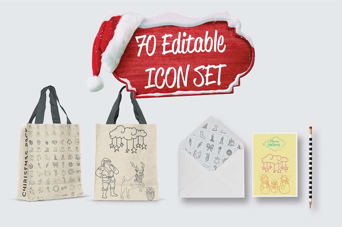 Christmas Icons Pack example image 4