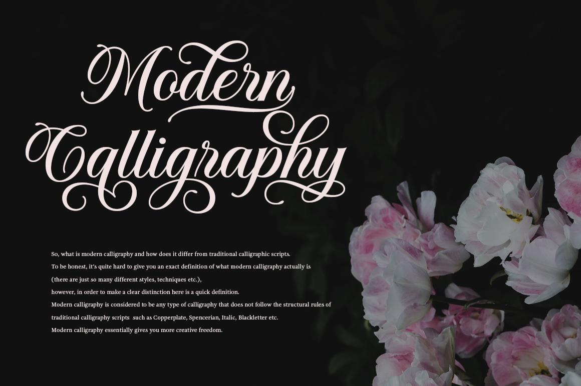 Solistaria-Elegant Calligraphy Font example image 6