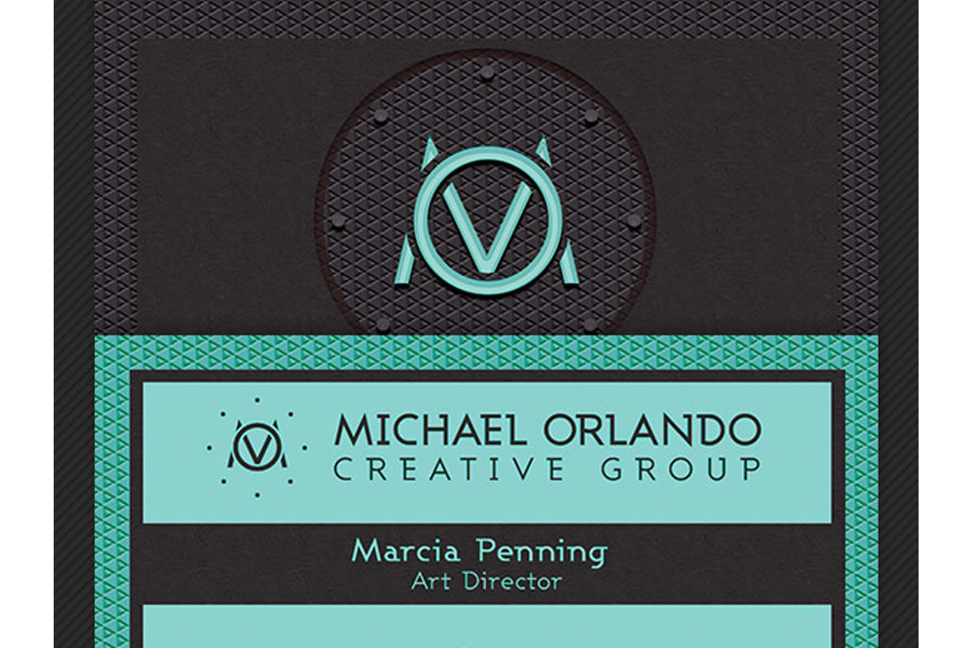 Creative Group Business Card Template example image 4