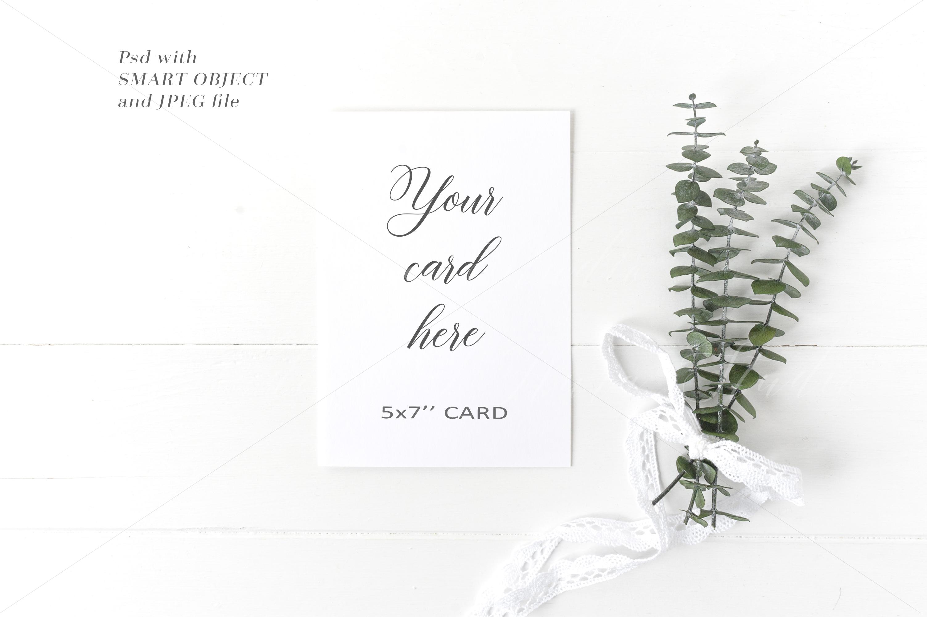 Wedding Card Mockup - crd228 example image 1