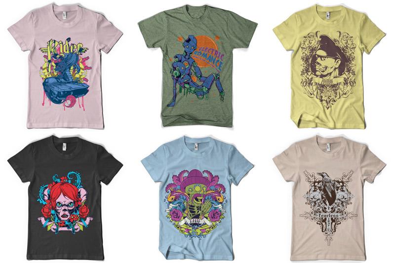 100 T-shirt Designs Vol 4 example image 7