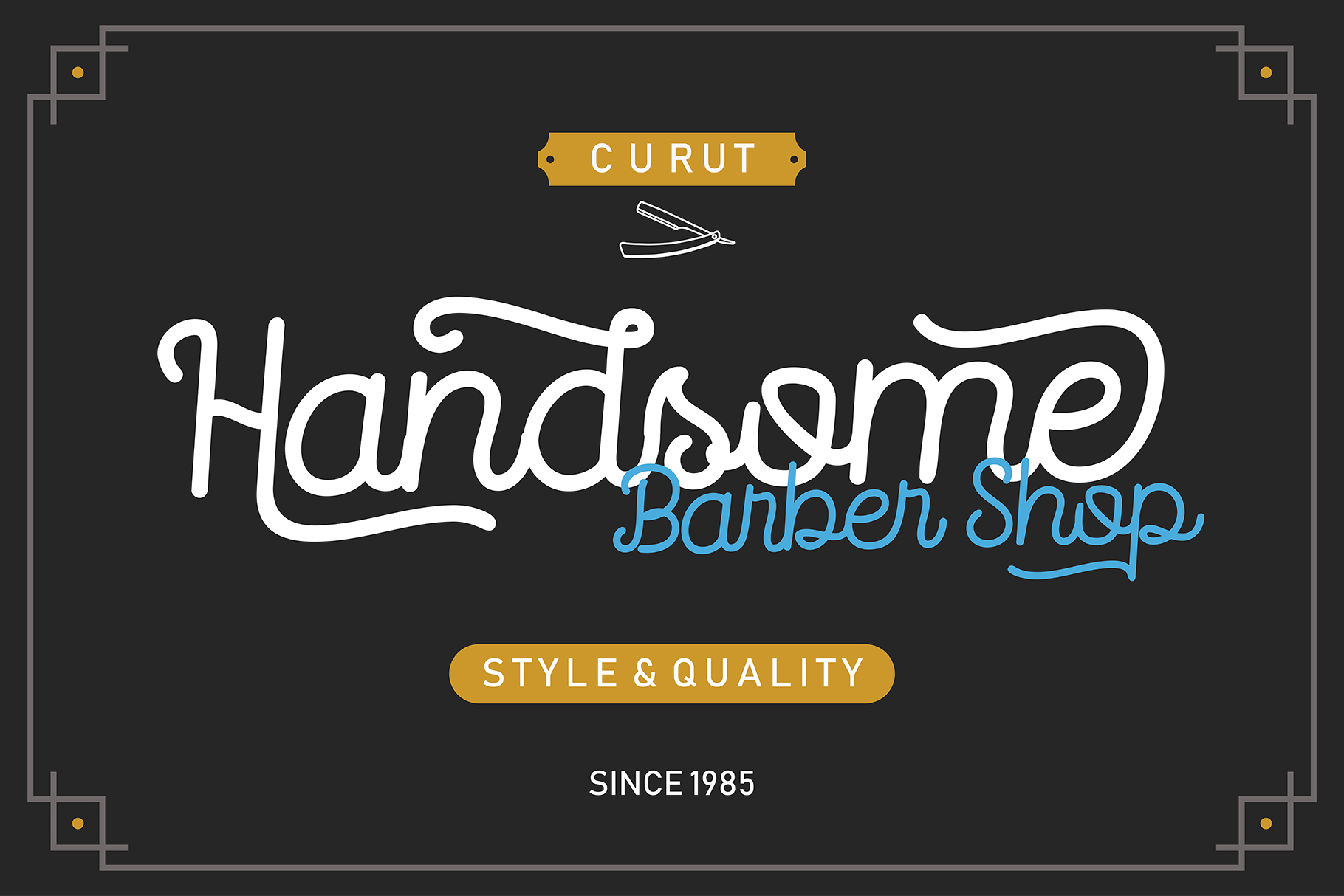 Routerline - 4 Style Font example image 2