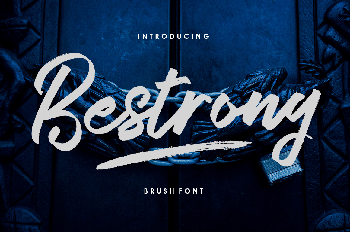 Bestrong - Brush Font example image 2