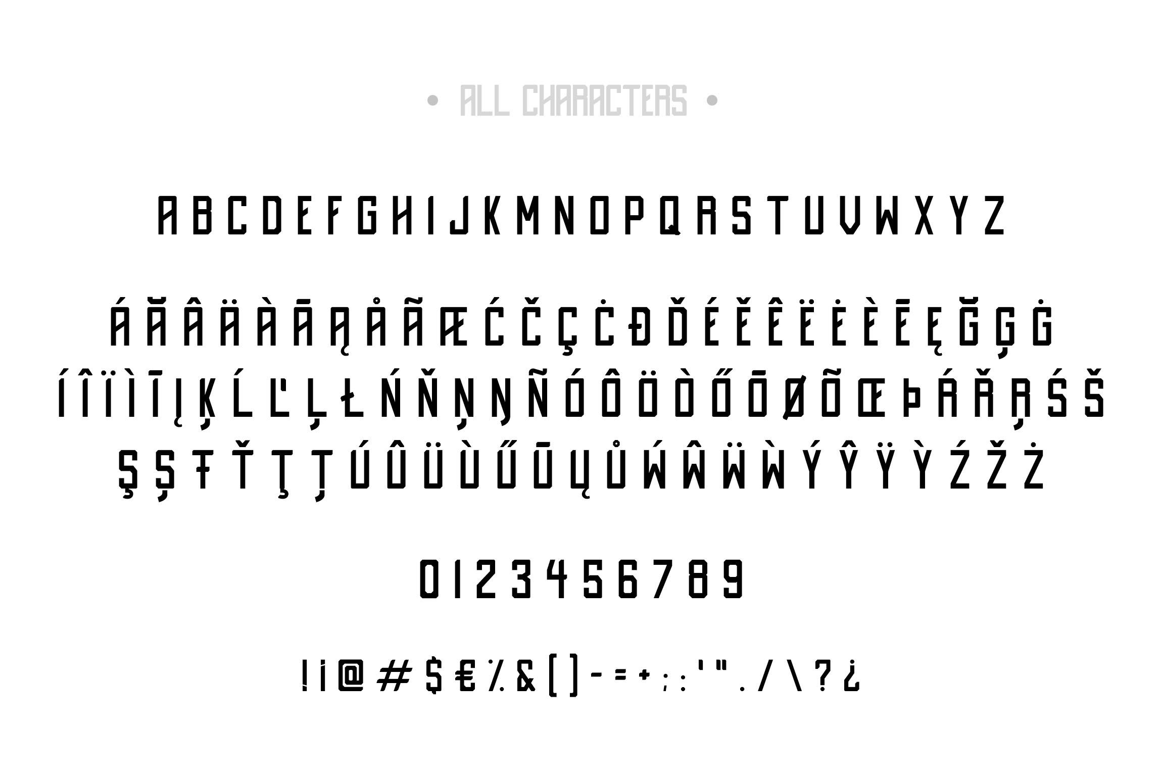 Destrukt - Sans Serif Font- 2 Styles example image 7